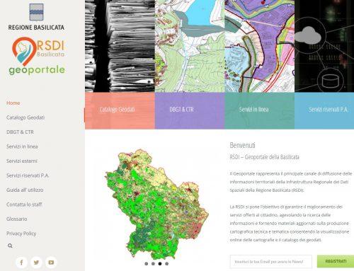 Pubblicato il nuovo Geoportale RSDI