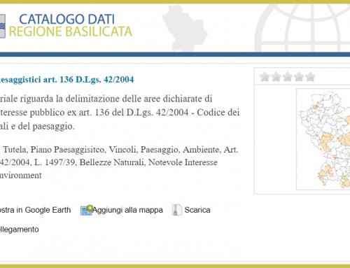 Il Piano Paesaggistico Regionale arricchisce Il Catalogo Geodati RSDI