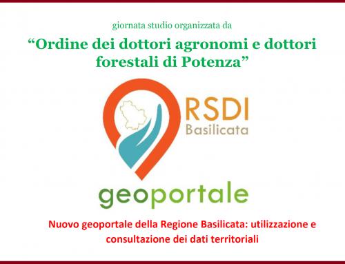 Nuovo Geoportale della Regione Basilicata: utilizzazione e consultazione dei dati territoriali