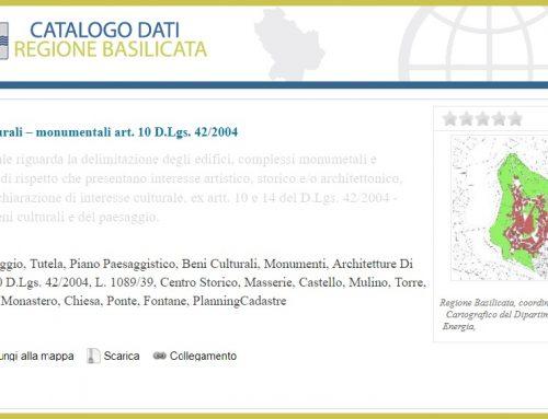 Il patrimonio culturale regionale catalogato dal Piano Paesaggistico Regionale