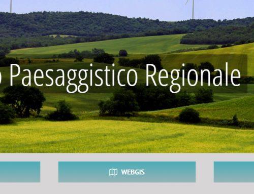Il Piano Paesaggistico Regionale ON LINE anche dal Geoportale RSDI Basilicata