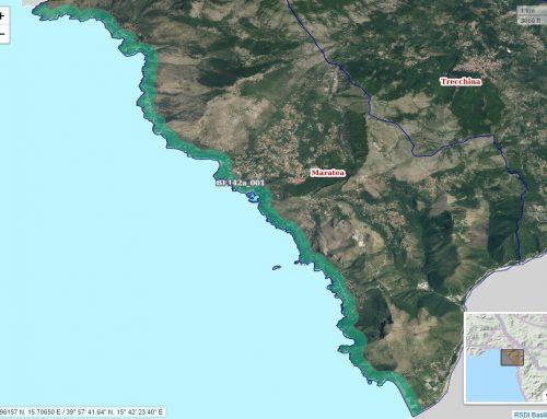 I territori costieri regionali catalogati dal Piano Paesaggistico