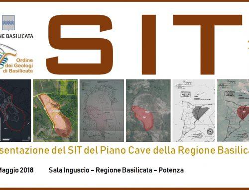 Presentazione del SIT del Piano Cave della Regione Basilicata