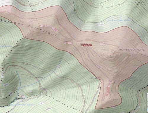 Le Montagne (parte eccedente i 1.200 m s.l.m.) catalogate dal Piano Paesaggistico