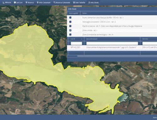 Zone umide catalogate dal Piano Paesaggistico Regionale