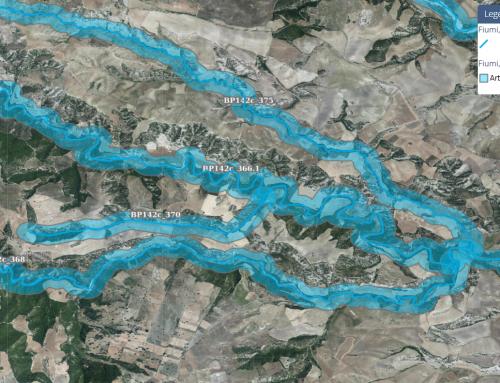 Fiumi, torrenti e corsi d'acqua (Beni Paesaggistici art. 142 let. c) catalogati dal Piano Paesaggistico Regionale