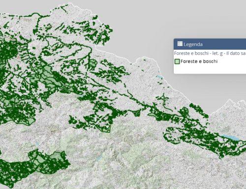 Foreste e boschi: pubblicazione metadati e download layer