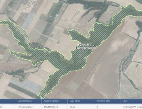 """Aggiornamento strato informativo """"pSIC – Siti di Interesse Comunitario proposti – Rete Natura 2000"""""""