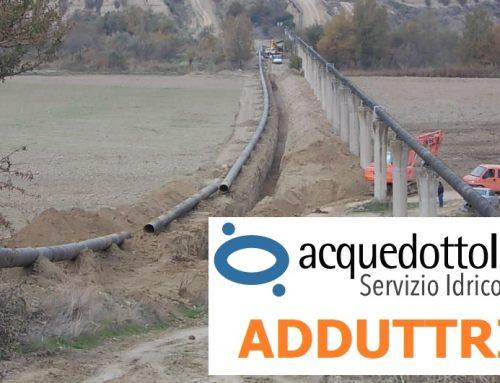 La RSDI ospita i dati geografici di Acquedotto Lucano: ADDUTTRICI [layer 6/7]
