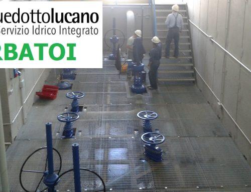 La RSDI ospita i dati geografici di Acquedotto Lucano: SERBATOI [layer 4/7]
