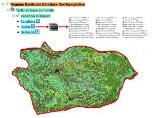 RSDI Basilicata - Database Geotopografico