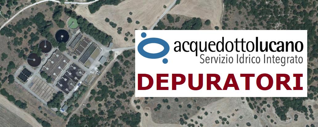 La RSDI ospita i dati geografici di Acquedotto Lucano: DEPURATORI [layer 1/7]